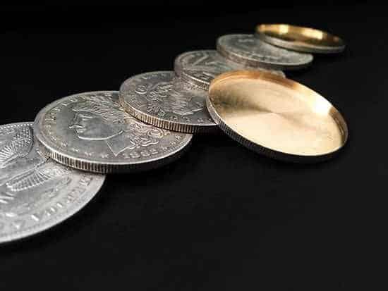 Morgan-Dollar-Shell-en-Coin-Set-5-Coin-1-Hoofd-Shell-1-Staart-Shell-door-Oliver.jpg_q50